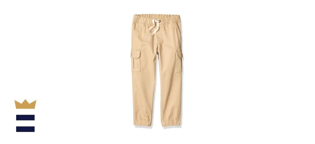 Amazon Essentials Boys' Cargo Jogger Pants