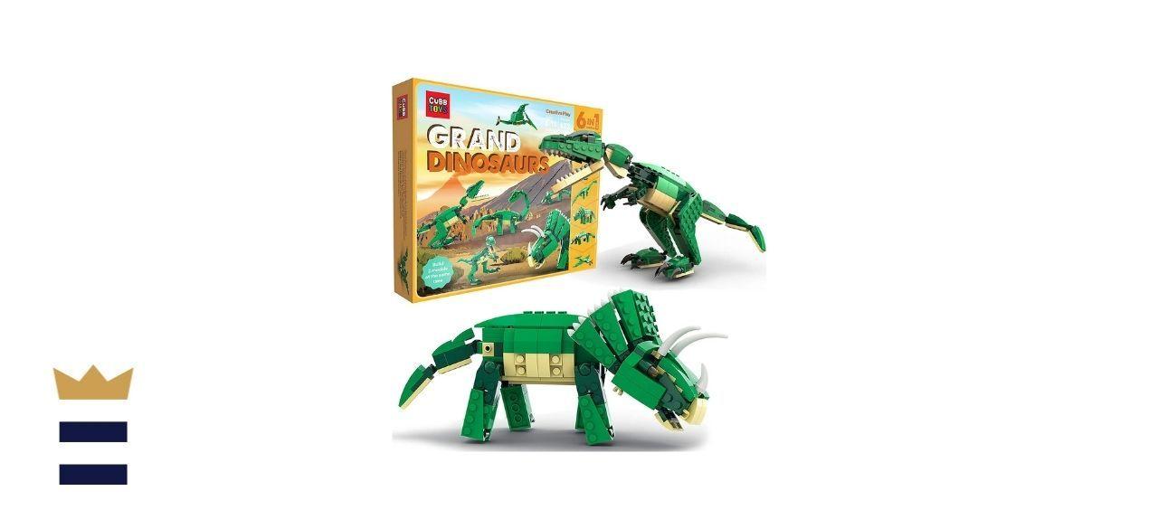 SmartEmily Cubb Toys Grand Dinosaurs Building Blocks