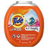 Tide PODS Plus Downy 4-in-1 HE Turbo Laundry Detergent Pacs, 61-Count