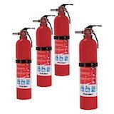 First Alert Home Fire Extinguisher Rated 1-A:10-B:C
