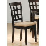 Coaster Home Furnishings Gabriel Modern Window Back Chair, Set of 2