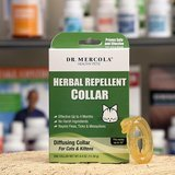 Dr. Mercola Herbal Flea, Tick, & Mosquito Repellent Collar for Cats & Kittens