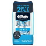 Gillette Cool Wave Clear Gel