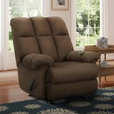 Dorel Living Padded Massage Rocker Recliner