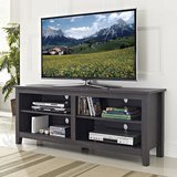 "WE Furniture 58"" Wood TV Stand Storage Console"