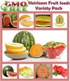 Heirloom Fruit Seeds Melon Variety Pack