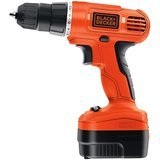 BLACK+DECKER 12-Volt Cordless Drill with Over Molds