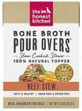 The Honest Kitchen Bone Broth Beef Stew Wet Dog Food Topper