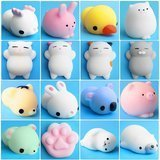 Outee 16-Piece Animal Squishies