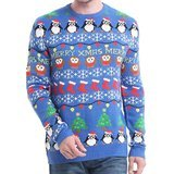 *daisyboutique* Men's Christmas Decorations Ugly Pullover Sweater