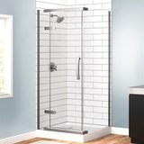 Delta 3-Piece Corner Frameless Shower Enclosure
