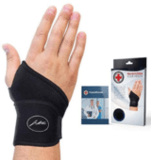 Dr. Arthritis Copper-Lined Hand and Wrist Support Strap