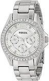 Fossil Riley Silver Stainless Steel