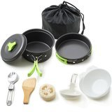 Honest Outfitters Camping Cookware Mess Kit
