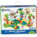 Learning Resources Gears! Gears! Gears! Movin' Monkeys Building Set