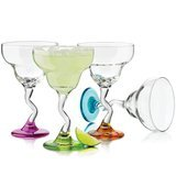 Libbey Color Margarita Glass Set