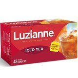 Luzianne Iced Tea, Family Size, 48-Count Tea Bags, Pack of 6