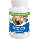 Only Natural Pet Brewer's Yeast & Garlic Chewable Tablets