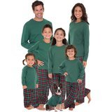 PajamaGram Plaid Flannel Matching Family Pajamas