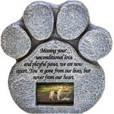 Pawprints Remembered Paw Print Pet Memorial Stone
