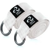 Pete's Choice Set of 2 Yoga Exercise Adjustable Straps - 8ft