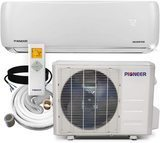 PIONEER Ductless Wall Mount Mini Split System