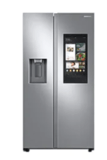 Samsung 26.7 cu. ft. Large Capacity Side-by-Side Refrigerator with Touch Screen Family Hub