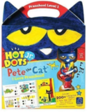 Educational Insights Hot Dots Jr. Pete the Cat I Love Preschool Set