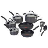 T-Fal Ultimate 12 Piece Hard-Anodized Aluminum Non Stick Cookware Set