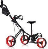 Tangkula Swivel Foldable Golf Cart