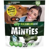 Vet IQ Minties Dog Dental Bone Treats