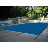 Water Warden Rectangular Mesh Blue In-Ground Safety Pool Cover