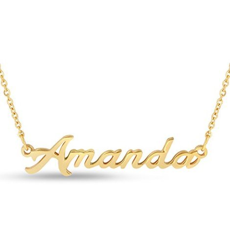 necklace of name anna arabic gold lou chains products london names